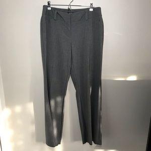 Apt 9 gray wide leg dress pants size 12